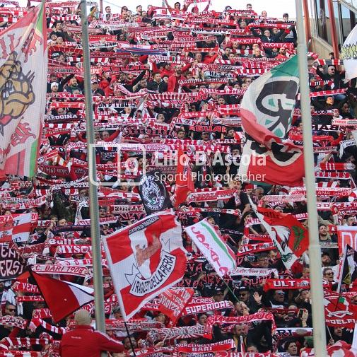 Reggina-Bari, Serie C 2019/2020: le fototifo della partita