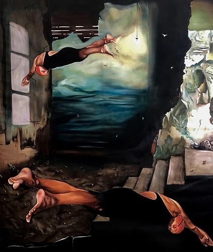 Deep in my mind (2019), detail - © Sofia Fresia - sofiafresia.it